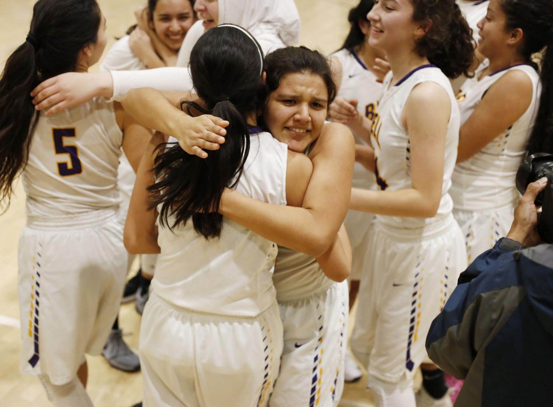 Yeimi+Ramirez+hugging+her+teammate+while+crying+