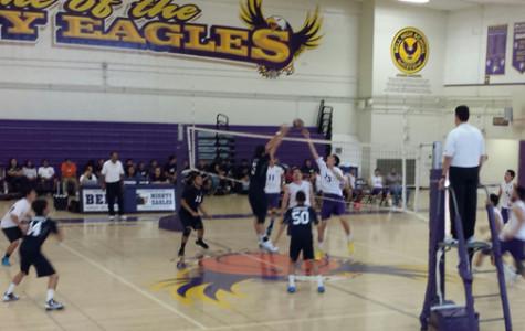 First Season Match For Boys Varsity Volleyball
