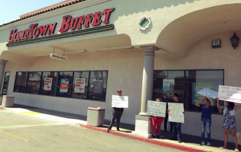 Transgender Mistreatment Protested at Bell Hometown Buffet
